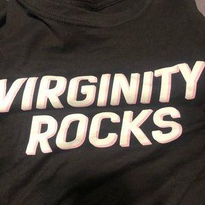 Virginity rocks tee